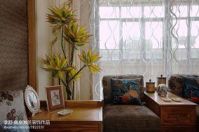 平米中式别墅客厅实景图片大全别墅豪宅中式现代家装装修案例效果图