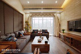 华丽552平中式别墅案例图别墅豪宅中式现代家装装修案例效果图