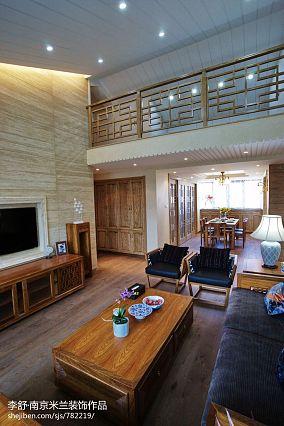 平中式别墅案例图别墅豪宅中式现代家装装修案例效果图