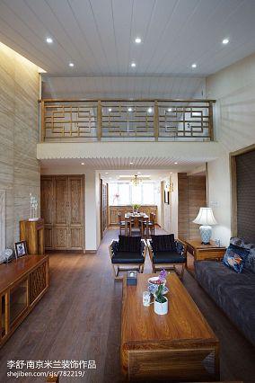 大气686平中式别墅装修效果图别墅豪宅中式现代家装装修案例效果图