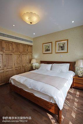 明亮215平中式别墅装修图别墅豪宅中式现代家装装修案例效果图