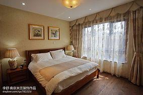 精美面积143平别墅卧室中式装修图片大全别墅豪宅中式现代家装装修案例效果图