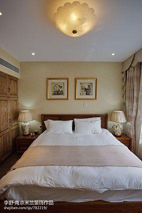 精美211平中式别墅设计图别墅豪宅中式现代家装装修案例效果图