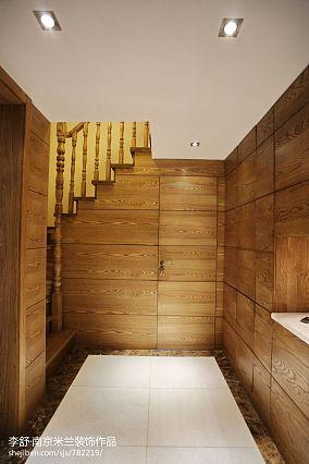精美138平米中式别墅过道装饰图片别墅豪宅中式现代家装装修案例效果图
