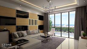 白色浪漫欧式客厅图片