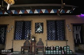 旧时光酒吧外观图