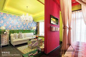 精选87平方二居客厅混搭装修图