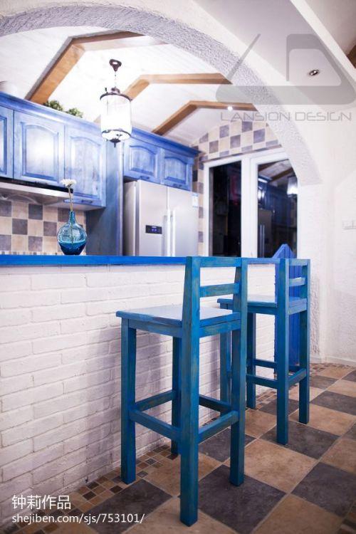 温馨71平混搭复式案例图厨房2图