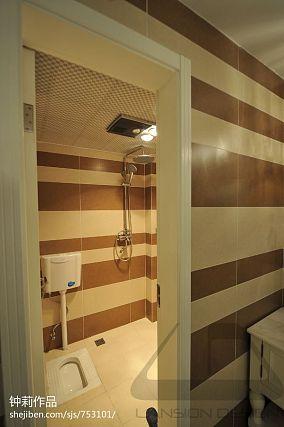 热门面积85平混搭二居卫生间效果图片欣赏