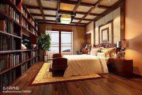 热门135平米混搭复式卧室装修图片