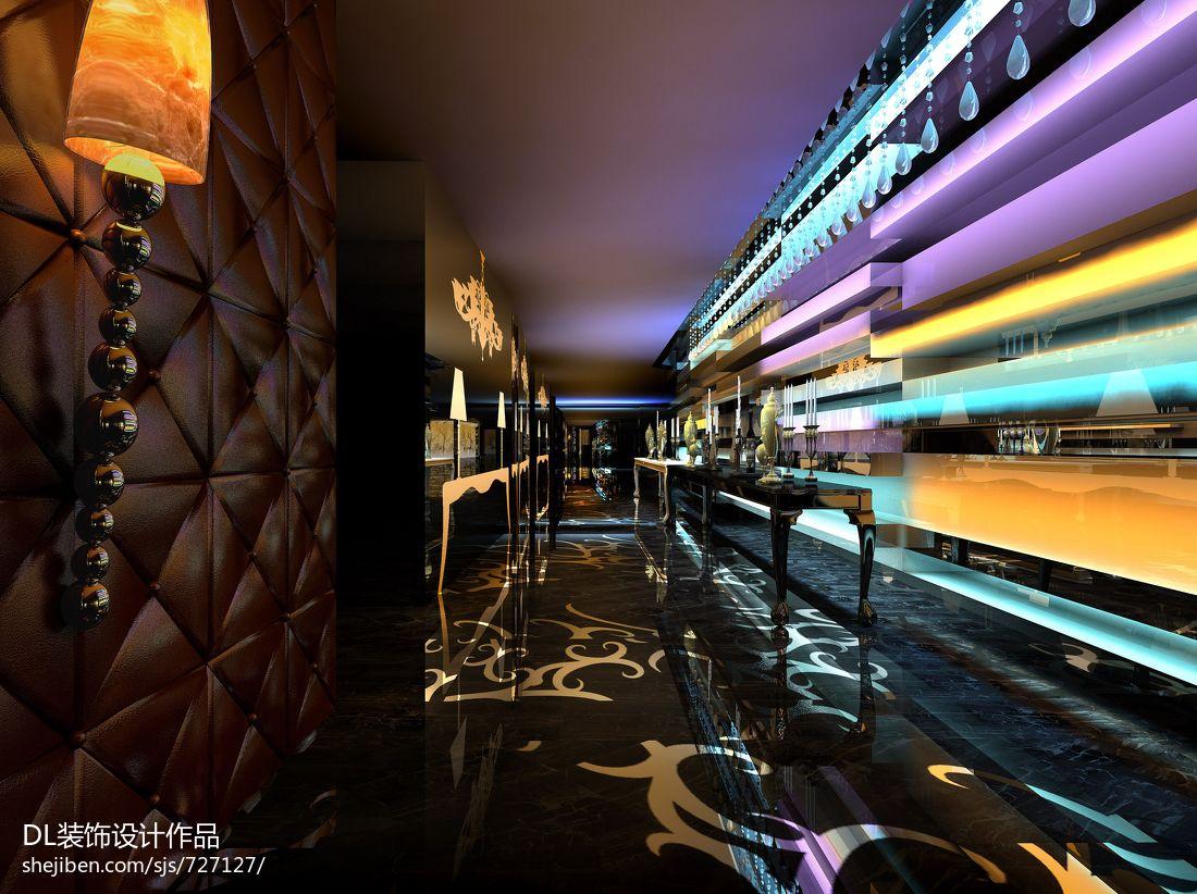 ktv走廊装修效果图设计图片赏析