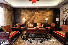 2018东南亚别墅客厅装修设计效果图