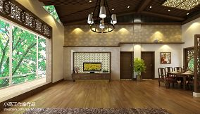 热门99平方三居客厅混搭装饰图片欣赏