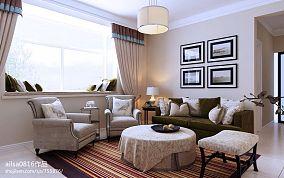 精美大小90平混搭二居客厅实景图片欣赏