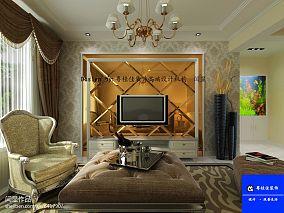 美式古典客厅