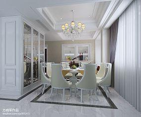 现代简约家居餐厅装潢效果图片