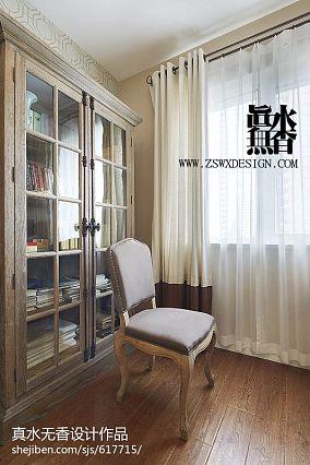 精选美式二居书房装修欣赏图
