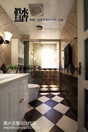 精选132平米四居卫生间现代效果图片欣赏