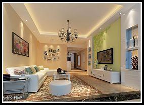 美式风格奢华别墅房屋外观效果图