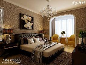 地中海精装修卧室效果图