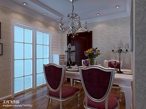 精选美式小别墅客厅楼梯装修图