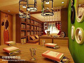吴系茶餐厅就餐区设计效果图