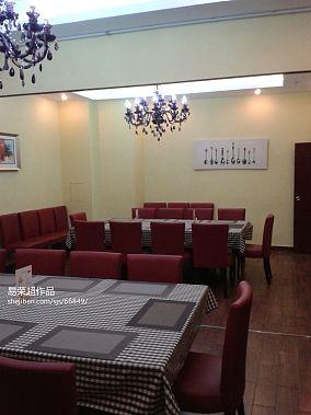 时尚中式风格别墅室内客厅图片