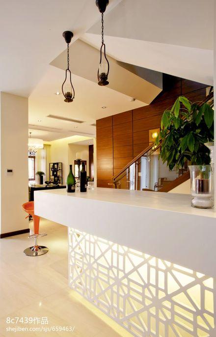 家庭客厅吧台装修效果图欣赏