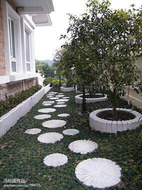 别墅花园设计实景图片大全 别墅花园装修设计方案