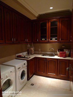 热门别墅厨房混搭装修实景图