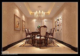 小别墅挑高餐厅装修图