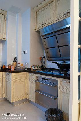 混搭四居厨房装修图片
