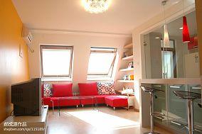 精选面积98平混搭三居休闲区装修欣赏图片