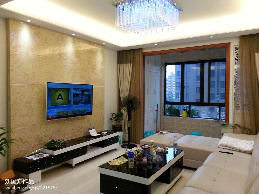 精美81平混搭二居客厅案例图客厅潮流混搭客厅设计图片赏析