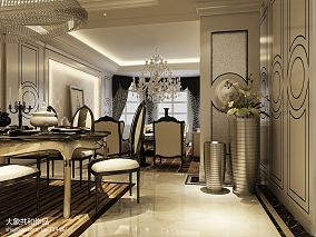 三室两厅两卫欧式风格装修效果图