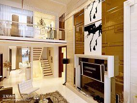 汇锦庄园-120㎡-美式风格书房---业之峰装饰