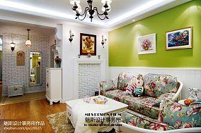 面积72平小户型客厅欧式装饰图片大全