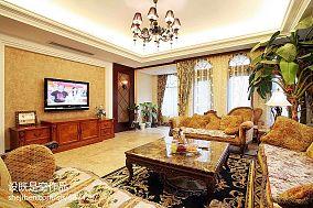 精美大小134平别墅客厅美式装修效果图片大全