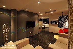 精选86平米现代小户型客厅装修图片
