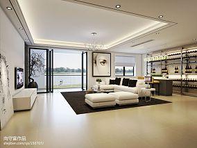 精美大小101平混搭三居客厅装修图