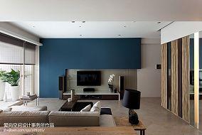 热门88平米二居客厅现代欣赏图片大全