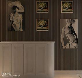 新古典欧式风格卧室床头软包背景墙图片