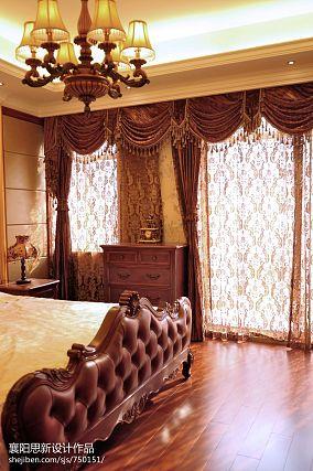 2018面积121平复式卧室美式装修效果图片