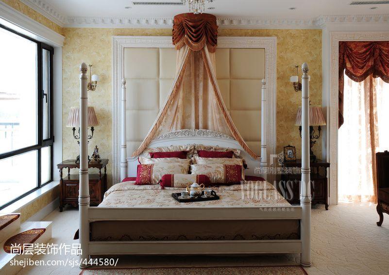 家装主卧室样板间效果图设计图片赏析
