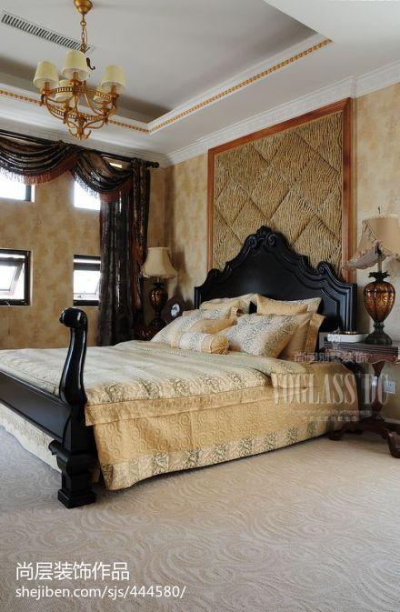 精选大小126平别墅卧室混搭装修图片欣赏