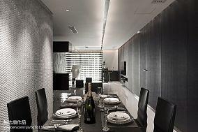 2018精选78平米二居餐厅现代效果图片大全