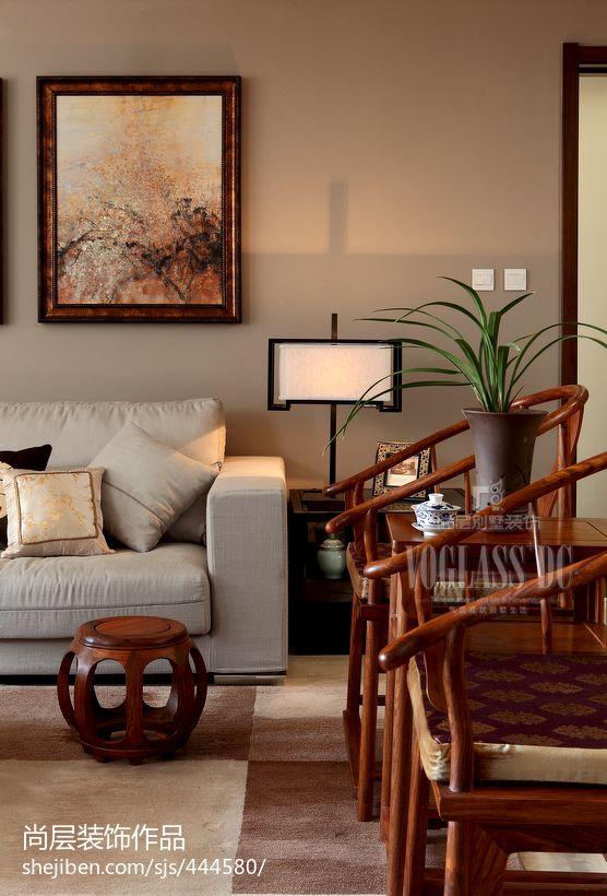 中式风格客厅太师椅图片功能区1图