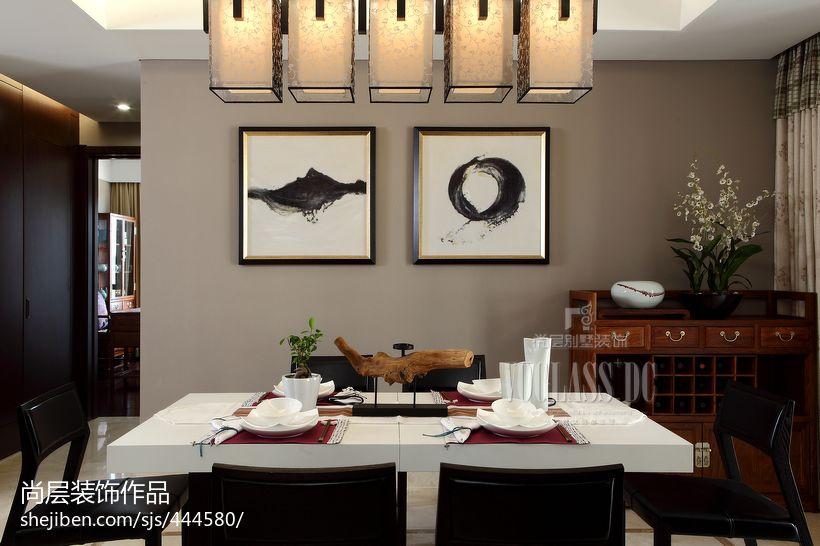 中式餐厅照片墙图片功能区1图其他功能区设计图片赏析