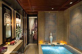 古典浴室装修效果图