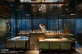 餐厅酒吧台图片